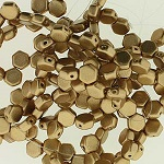Honeycomb Beads 30 pack Crystal Bronze Pale Gold 00030 01710