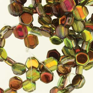 Honeycomb Beads 30 Pack Crystal Magic Yellow Brown 00030 95400