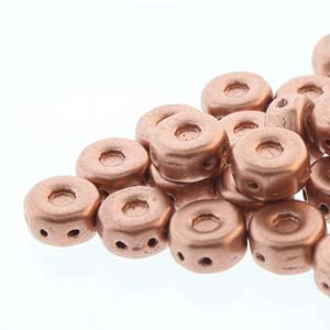 30 pack Czech glass Octo Beads Bronze Pale Copper 00030 01780
