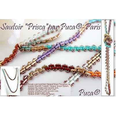 Free Pattern - Prisca Necklace