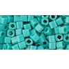 10 grams TOHO 3 mm Cubes Opaque Turquoise TC-03-55