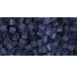 10g TOHO size 11 Triangles Trans Frosted Sugar Plum TG-11-19F