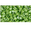 10 grams TOHO Size 11 Hex Beads Op Lustred Sour Apple TH-11-131