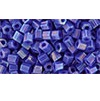 10 grams TOHO Size 11 Hex Beads Op Rainbow Navy Blue TH-11-408
