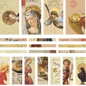 Patera Collage Sheets for Channel Beads Angels