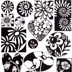 Patera Collage Sheet Graphic Florals